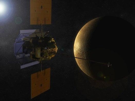 Next Week Messenger Probe Will Become First Craft To Orbit Mercury