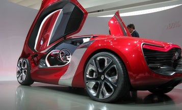 At the Paris Auto Show, Supercars and Stylish Concepts