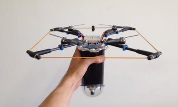 Lightweight Drone Sees In Infrared To Find Lost Hikers