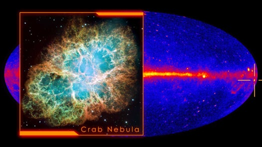 Crab Nebula Emits Largest Gamma Ray Burst Ever Seen, Puzzles Astronomers
