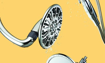 Low-flow showerheads that turn drips into deluges