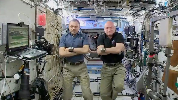 Watch Our Full Interview With The Space Station Astronauts