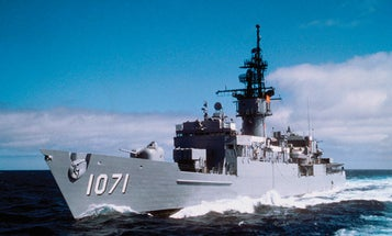 FYI: What Kind Of Gas Mileage Can You Get From A Naval Warship?