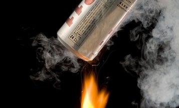 Flaming Oxygen Drops