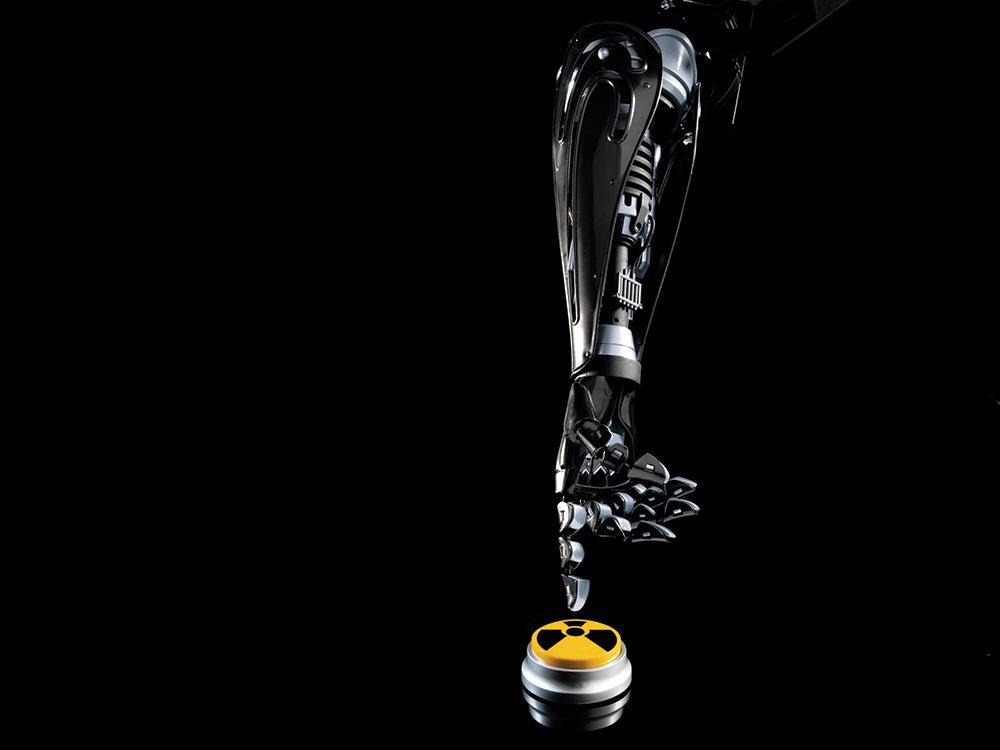 Nuclear robot arm