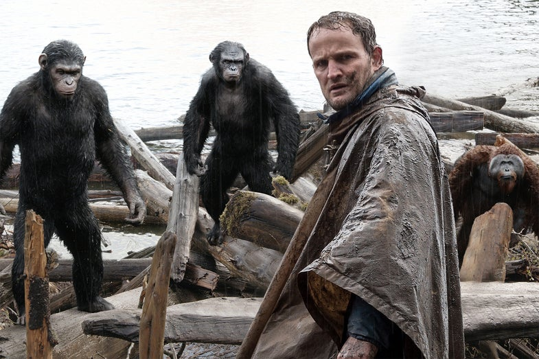 Special Effects Of 2014: 'Dawn Of The Planet Of The Apes' Is The New High-Water Mark For Motion Capture