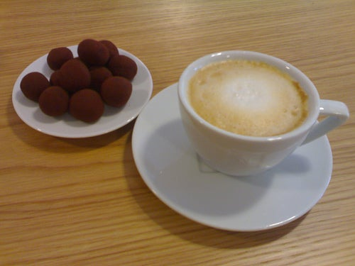 Eat (Chocolate), Drink (Coffee) and be Merry