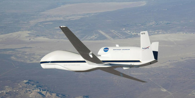 Did Anti-Chemtrail Hackers Break Into NASA's Drone?
