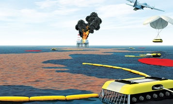 A Slick Fix: Oil-Eating Robots Could Mop Up Ocean Disasters