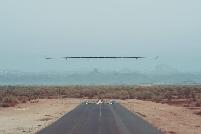 Facebook's Internet-Beaming Drone Flies For The First Time