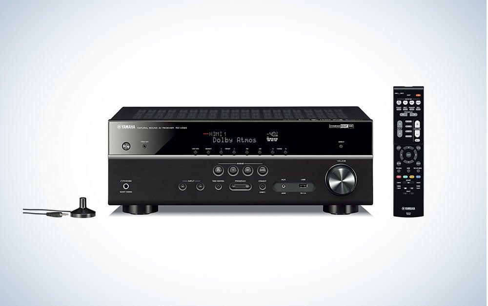 Yamaha 7.2 channel reciever