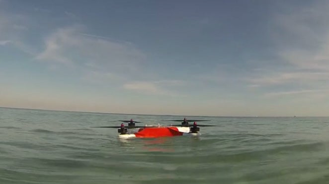 Splashdrone Is A Waterproof Alternative To Screaming About A Drowned Quadcopter