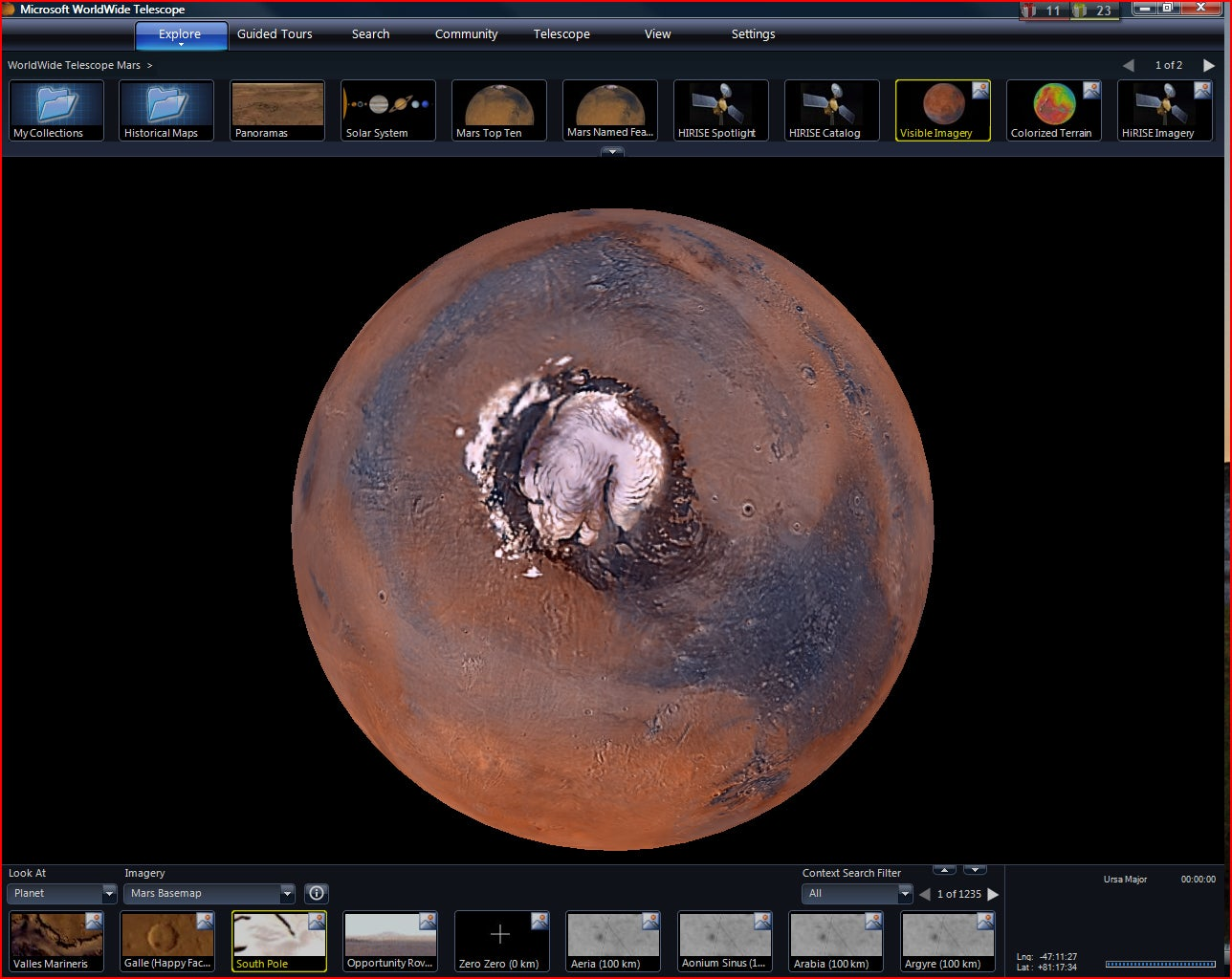 After 3 Years of Data Crunching, NASA and Microsoft Release Stunning New Interactive Mars Tour