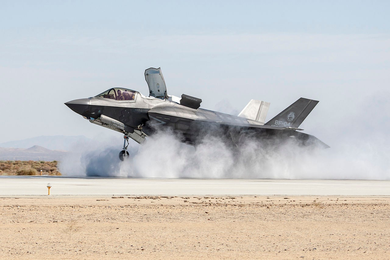 What's Next For The F-35B? Lasers