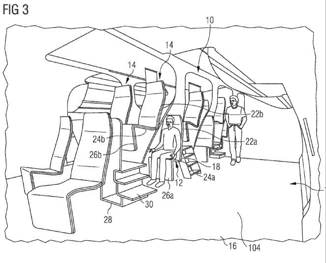 Airbus Wants To Literally Seat Plane Passengers On Top Of Each Other