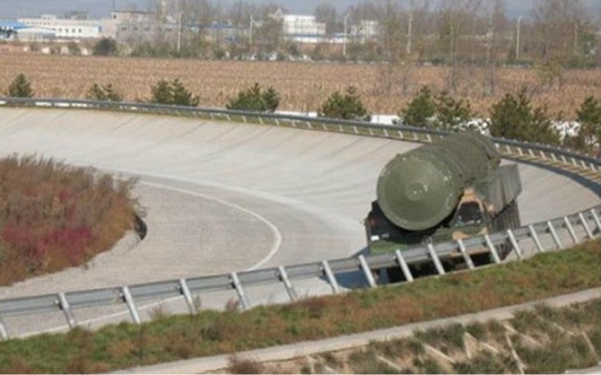 New Chinese Ballistic Missile Accidentally Pops up on Environmental Website