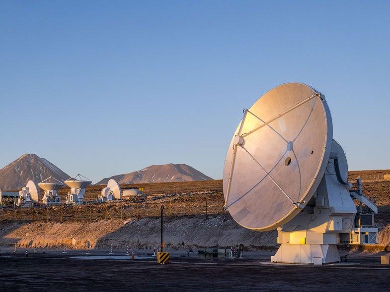 ALMA's Last Antenna
