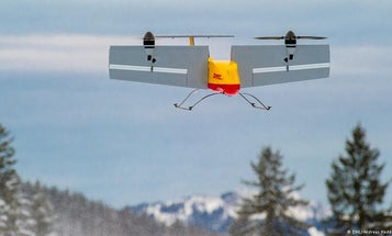 DHL Delivery Drone Is Three Times As Fast As A Car