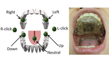 Steer Your Wheelchair With Your Computerized Tongue Piercing