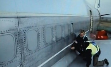 Video: Boeing 747 Withstands Simulated What-If Underwear Bomber Blast