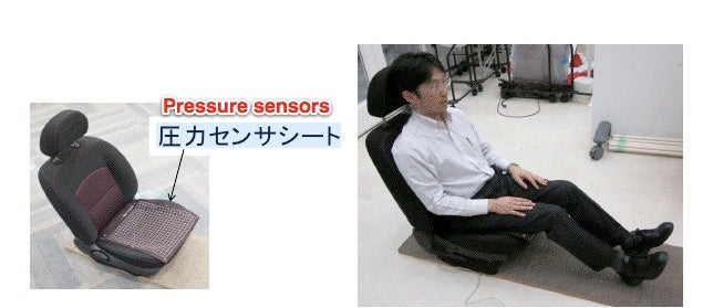 A Car Seat That Authenticates the Driver With Butt Recognition