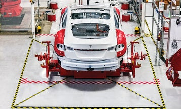 A Look Inside The Tesla Factory And A Real-Life Remembrall