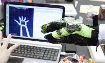 Haptic Gloves Use Air Pressure To Simulate The Feel Of Virtual Objects