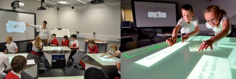 Students Learn Better With Star Trek-Style Touchscreen Desks