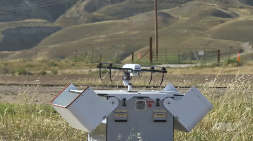 This Drone On A Leash Could Guard Army Bases