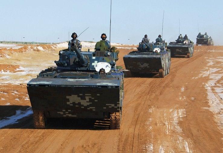 PLAN Marines Train for North Korea, in Inner Mongolia?