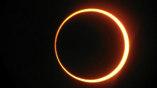 Watch The Ring Of Fire Eclipse Starting At 5:30 P.M. EST