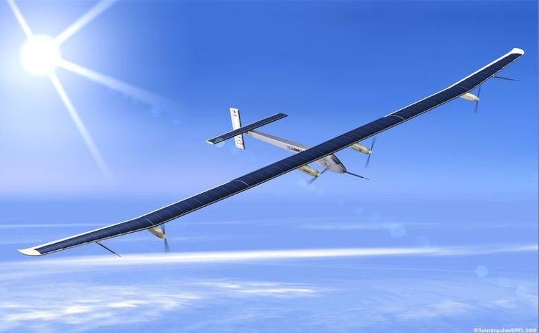 Solar-Powered Plane About to Enter Darkness Over Europe, In First Attempt at All-Night Flight