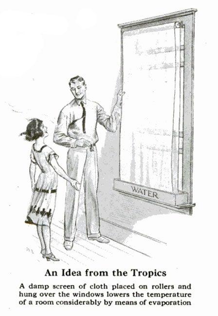 Dampened Windows: July 1926