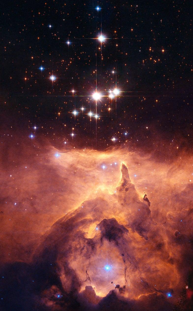 Pismis 24, a Fantastical Triple Star System