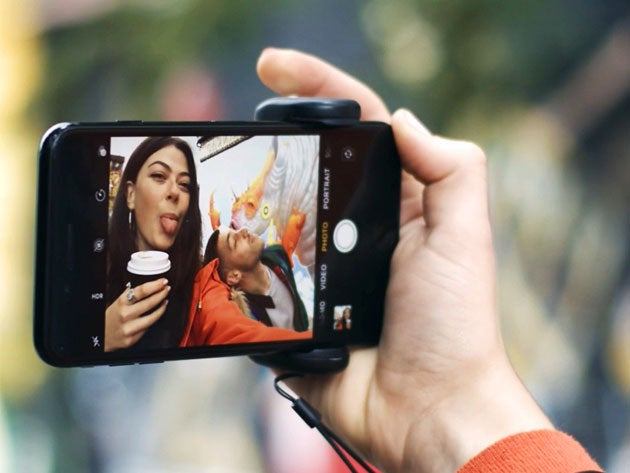 Turn your smartphone into a dedicated camera with ShutterGrip