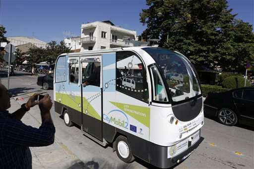 In Greece, Driverless Buses Are Now Accepting Passengers