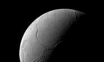 Saturn's Moon Enceladus Has A Tentacle