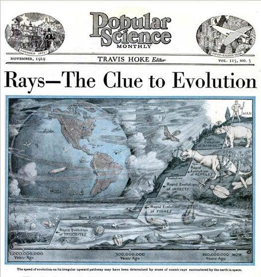 Cosmic Rays: November 1929
