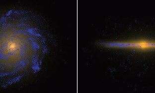 Supercomputer Simulation Shows for the First Time How a Milky Way-Like Galaxy Forms
