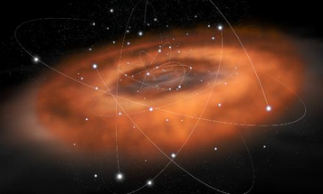 Big Pic: The Milky Way's Black Hole Devours Hot Gas