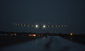Solar Plane's Evening Flight To NYC Cancelled