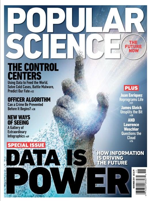 November 2011: Data Is Power