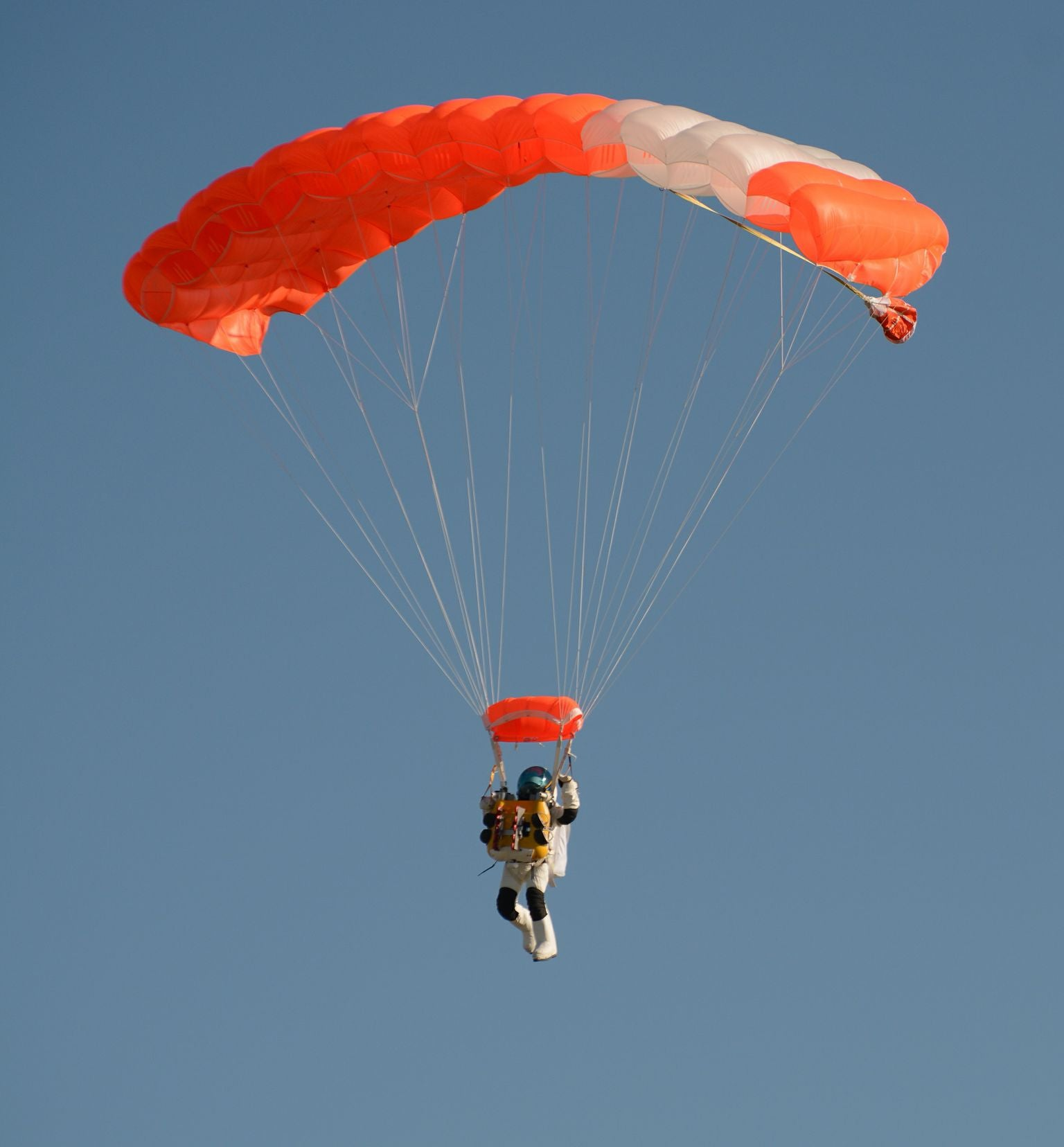 The Week In Numbers: The World's Highest Freefall, A Paralyzed Man Walks, And Driverless Cars Learn To Speed
