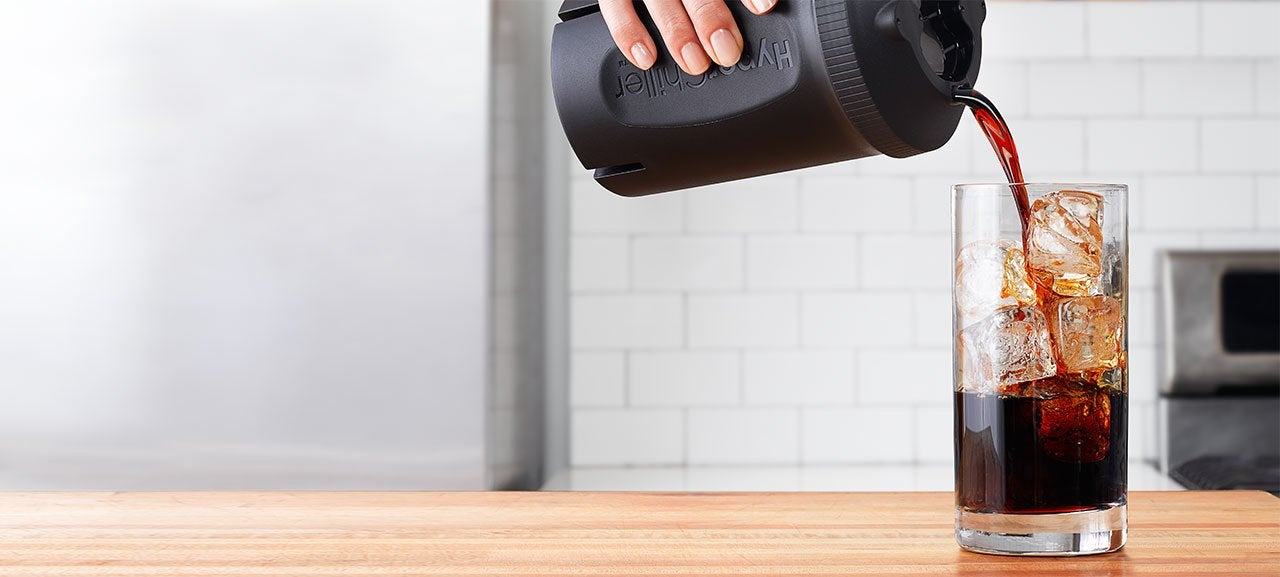 This ingenious device creates iced coffee in under a minute