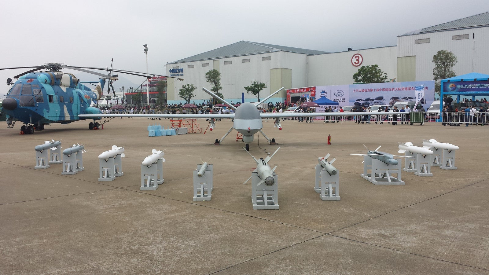 China Shows Off Its Growing Drone Fleet