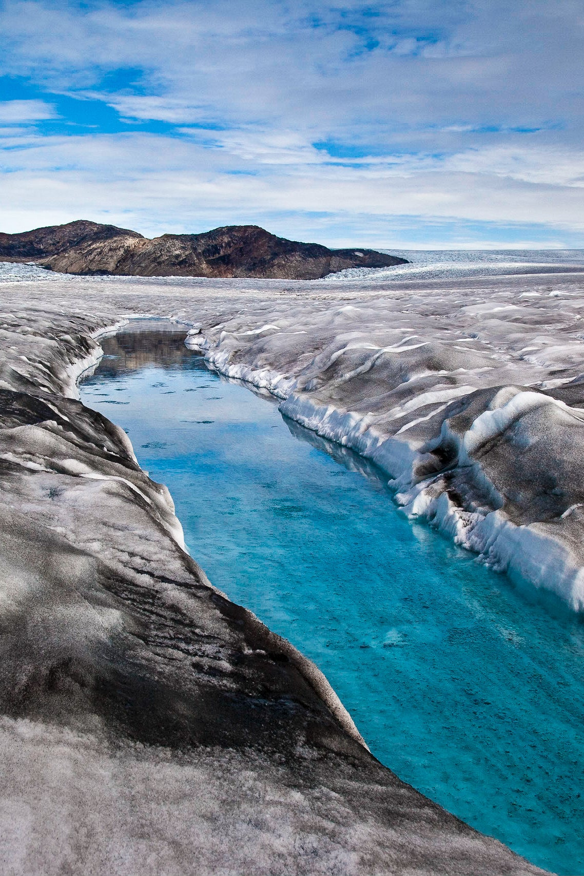 As Its Ice Sheet Melts, Greenland Is Rising Faster Than Expected