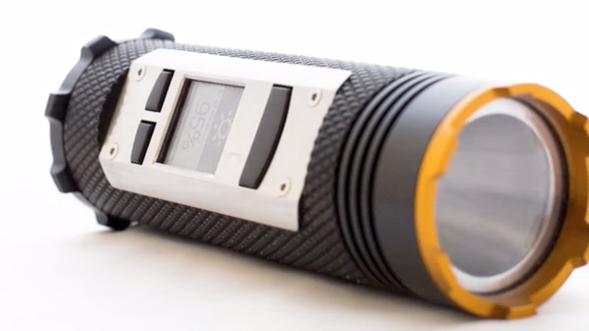 A Smart Flashlight For Those Brave Enough To Venture Outdoors