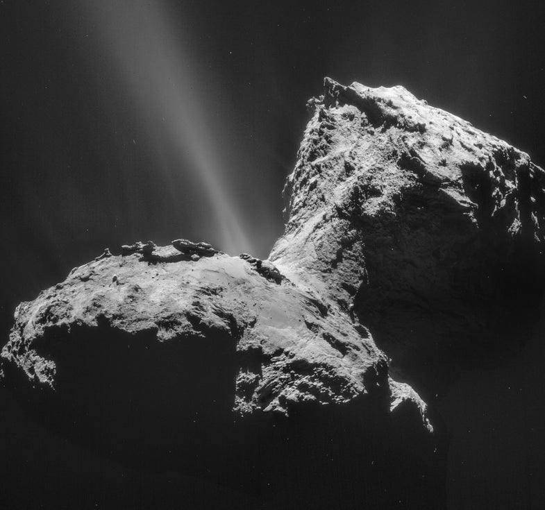 Smelly Postcards Will Give You A Whiff Of Rosetta's Comet