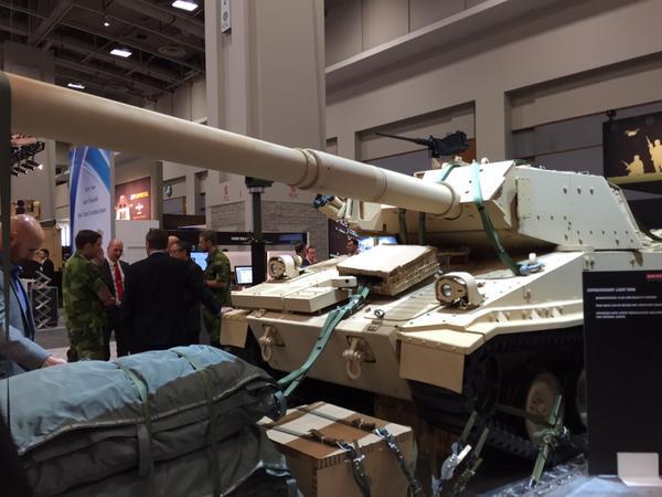 M8 Ridgeway Armored Gun System, Aberdeen Proving Ground