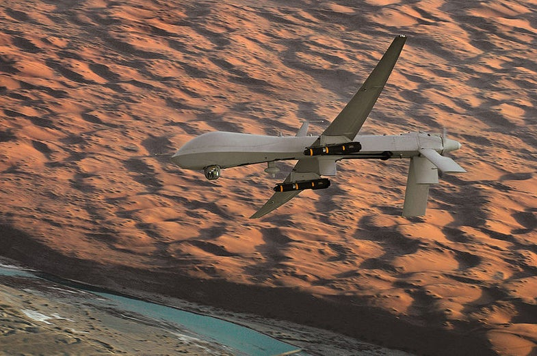 The Week In Drones: U.S. Aircraft Crashes In Yemen, Flying Firefighters In Dubai, And More